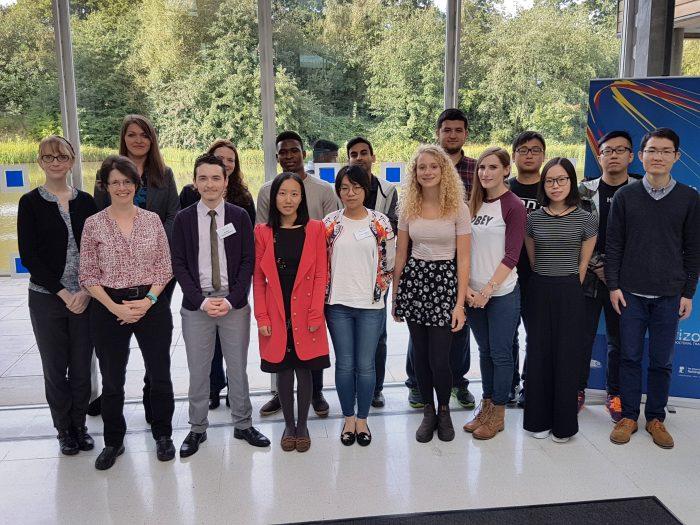 New Horizon CDT and IDIC 2016 cohort students